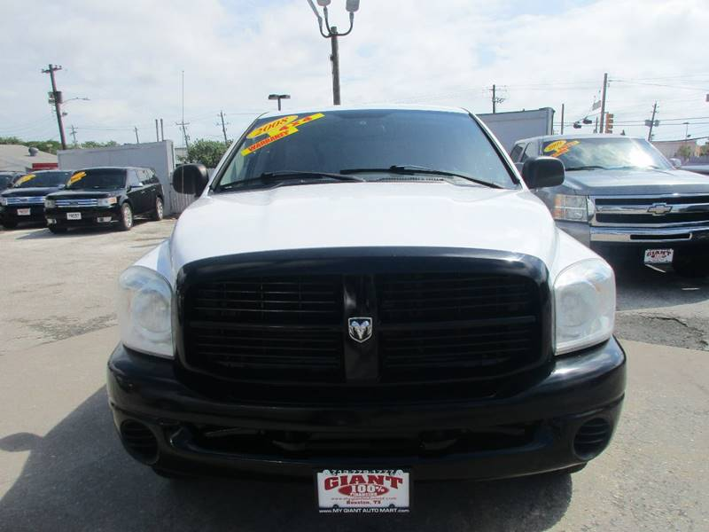 2008 Dodge Ram Pickup 1500 for sale at Giant Auto Mart 2 in Houston TX