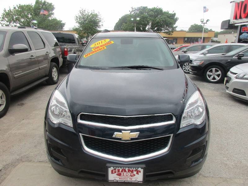 2015 Chevrolet Equinox for sale at Giant Auto Mart 2 in Houston TX