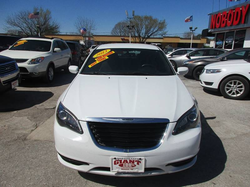 2013 Chrysler 200 for sale at Giant Auto Mart 2 in Houston TX
