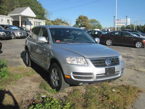 2006 Volkswagen Touareg for sale at Zinks Automotive Sales and Service - Zinks Auto Sales and Service in Cranston RI