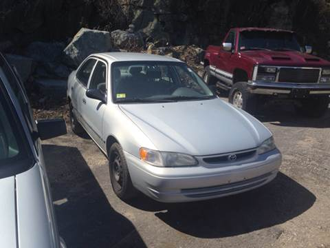 1999 Toyota Corolla for sale at Zinks Automotive Sales and Service - Zinks Auto Sales and Service in Cranston RI