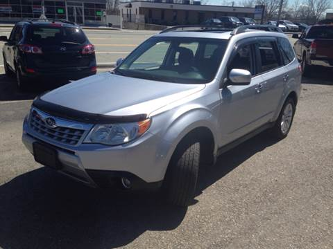 2012 Subaru Forester for sale at Zinks Automotive Sales and Service - Zinks Auto Sales and Service in Cranston RI