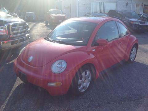 2002 Volkswagen New Beetle for sale at Zinks Automotive Sales and Service - Zinks Auto Sales and Service in Cranston RI