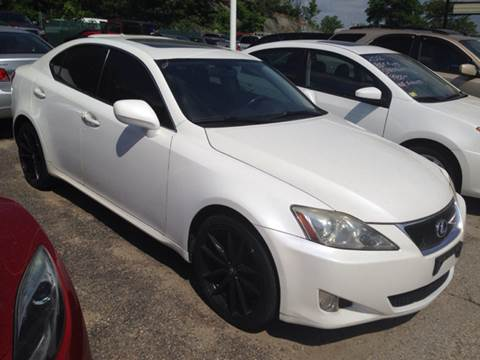 2008 Lexus IS 250 for sale at Zinks Automotive Sales and Service - Zinks Auto Sales and Service in Cranston RI