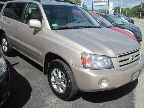 2005 Toyota Highlander for sale at Zinks Automotive Sales and Service - Zinks Auto Sales and Service in Cranston RI
