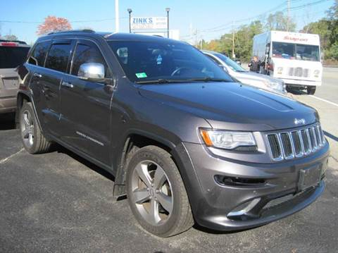 2014 Jeep Grand Cherokee for sale at Zinks Automotive Sales and Service - Zinks Auto Sales and Service in Cranston RI