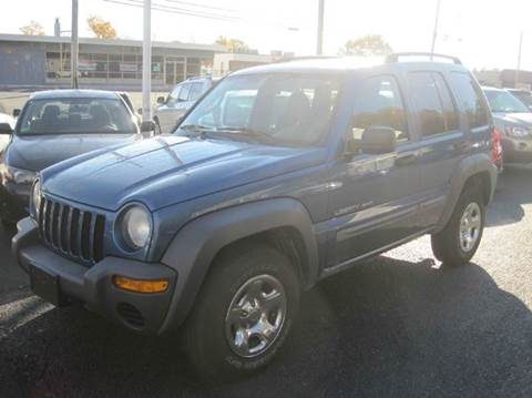 2003 Jeep Liberty for sale at Zinks Automotive Sales and Service - Zinks Auto Sales and Service in Cranston RI
