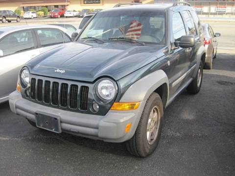 2005 Jeep Liberty for sale at Zinks Automotive Sales and Service - Zinks Auto Sales and Service in Cranston RI
