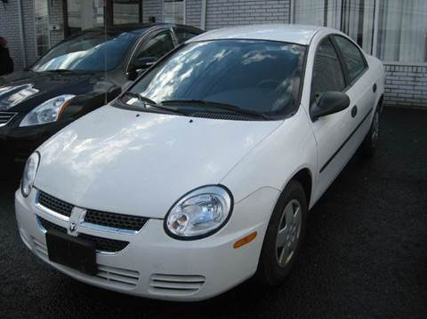 2004 Dodge Neon for sale at Zinks Automotive Sales and Service - Zinks Auto Sales and Service in Cranston RI