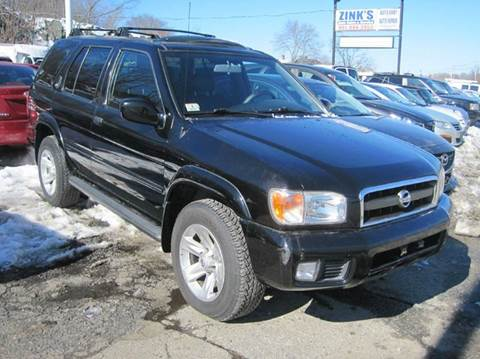 2002 Nissan Pathfinder for sale at Zinks Automotive Sales and Service - Zinks Auto Sales and Service in Cranston RI
