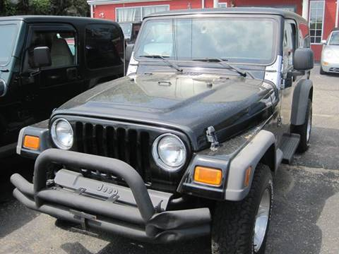 2005 Jeep Wrangler for sale at Zinks Automotive Sales and Service - Zinks Auto Sales and Service in Cranston RI