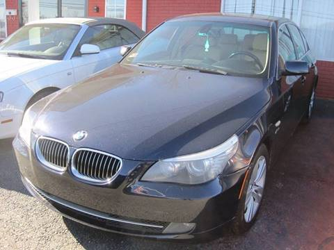 2009 BMW 5 Series for sale at Zinks Automotive Sales and Service - Zinks Auto Sales and Service in Cranston RI