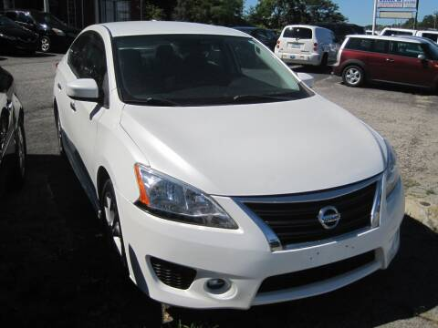 2013 Nissan Sentra for sale at Zinks Automotive Sales and Service - Zinks Auto Sales and Service in Cranston RI