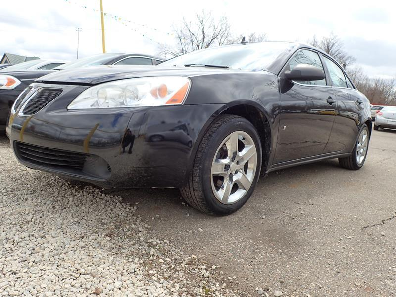 2008 PONTIAC G6 BASE 4DR SEDAN black none 94001 miles VIN 1G2ZG57B684274383