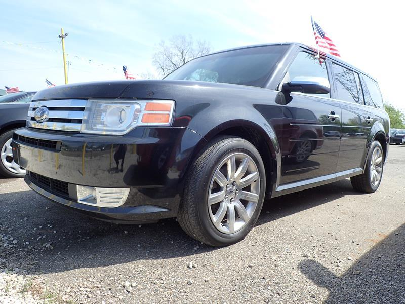 2010 FORD FLEX LIMITED AWD 4DR CROSSOVER black none 191430 miles VIN 2FMHK6DC5ABA25752