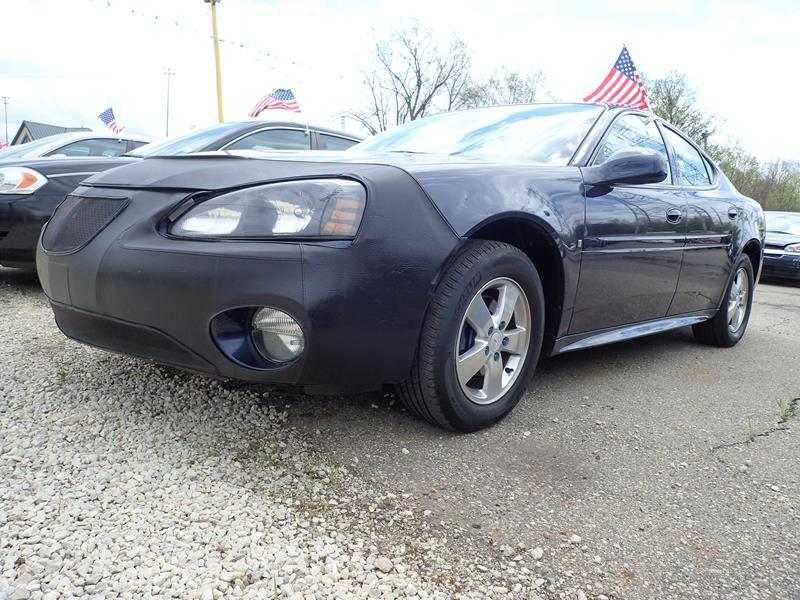 2008 PONTIAC GRAND PRIX BASE 4DR SEDAN blue none 103000 miles VIN 2G2WP552481151148