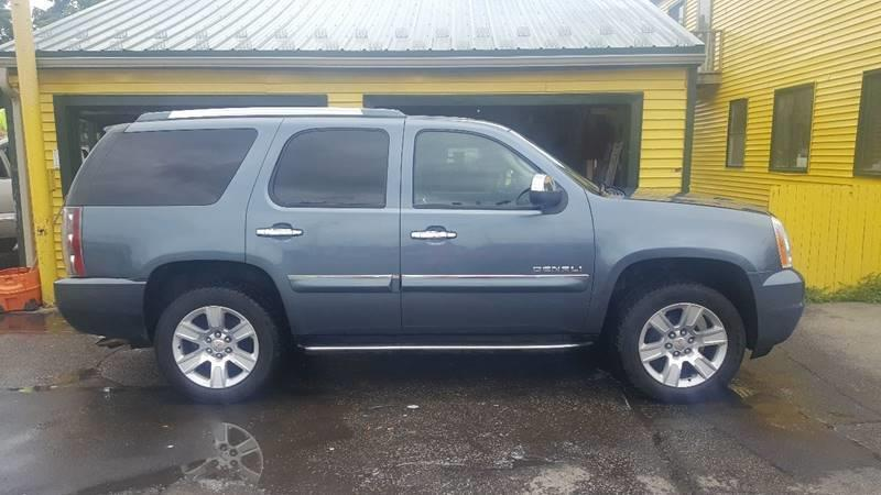 2007 GMC YUKON DENALI AWD 4DR SUV blue running boards - step grille color - chrome armrests - r