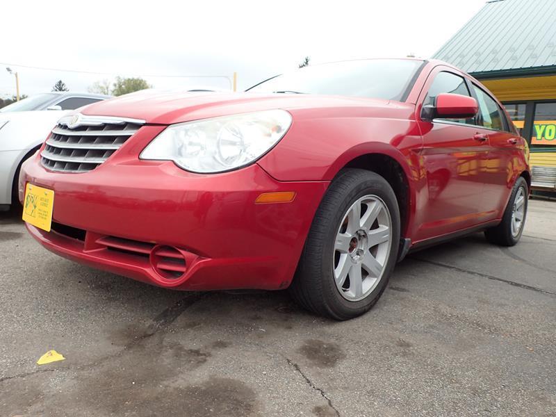 2008 CHRYSLER SEBRING TOURING 4DR SEDAN red door handle color - body-color armrests - rear cente