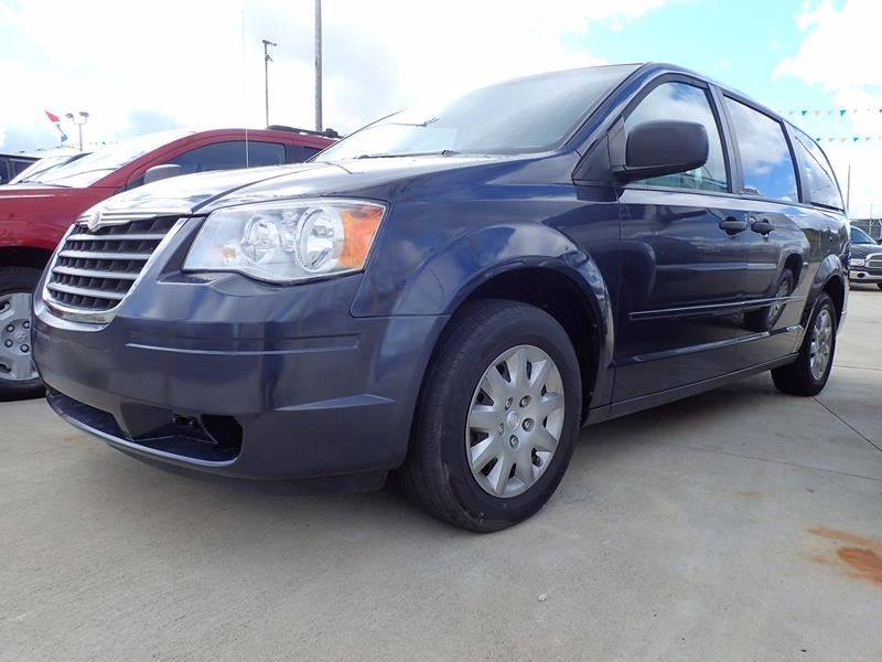 2008 CHRYSLER TOWN AND COUNTRY LX 4DR MINI VAN blue body side moldings - body-color door handle