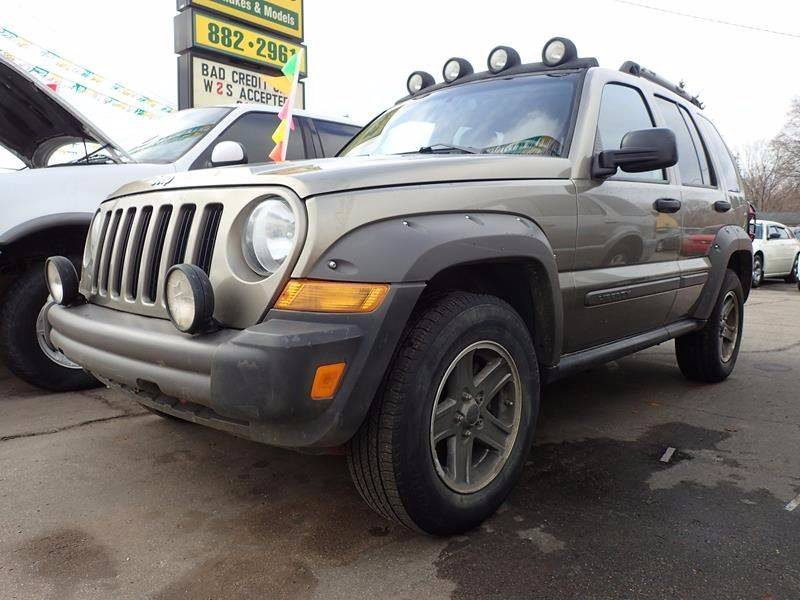 2006 JEEP LIBERTY RENEGADE 4DR SUV 4WD W FRONT SI tan running boards floor mat material - carpe