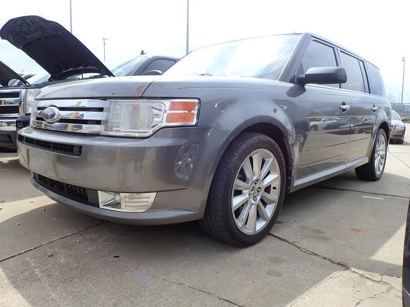 2010 FORD FLEX SEL AWD 4DR CROSSOVER WECOBOOST gray none 168000 miles VIN 2FMHK6CT7ABA14303