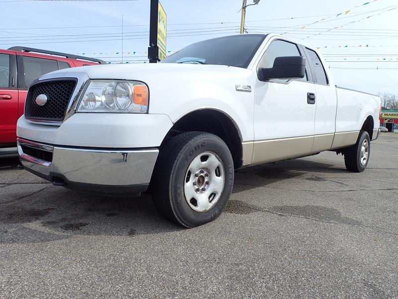 2008 FORD F-150 XL 4X4 4DR SUPERCAB STYLESIDE 8 white none 244000 miles VI