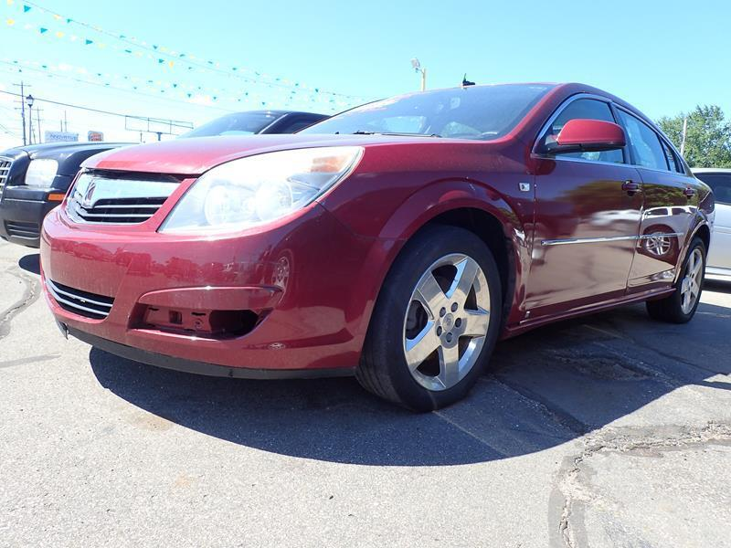 2008 SATURN AURA XE 4DR SEDAN burgundy none 0 miles VIN 1G8ZS57B48F231640