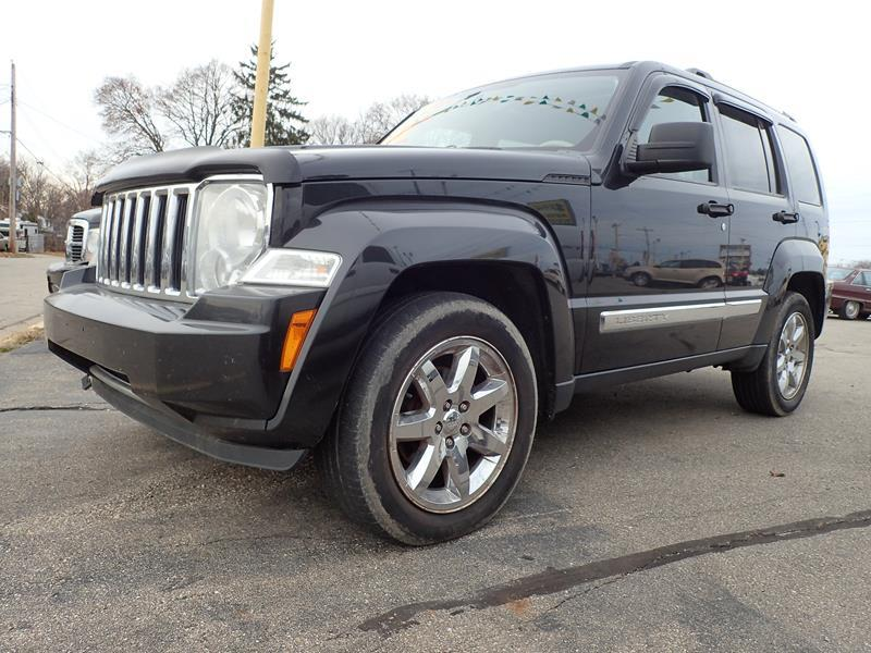 2008 JEEP LIBERTY LIMITED 4X4 4DR SUV black none 0 miles VIN 1J8GN58K78W237198