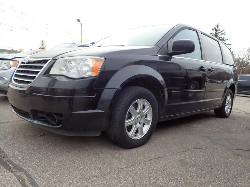 2008 CHRYSLER TOWN AND COUNTRY TOURING 4DR MINI VAN black body side moldings - body-color door h