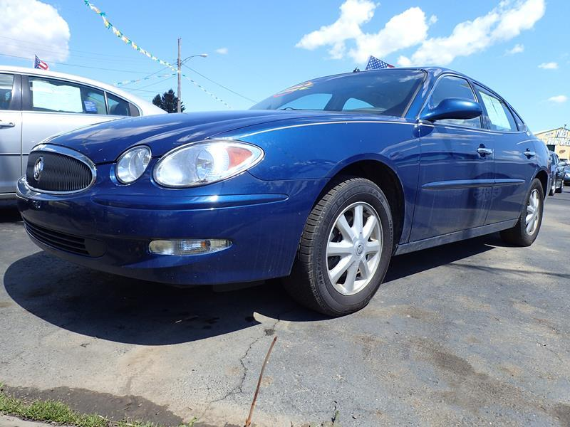 2005 BUICK LACROSSE CXL 4DR SEDAN W FRONT AND REAR blue none 204000 miles VIN 2G4WD562151145