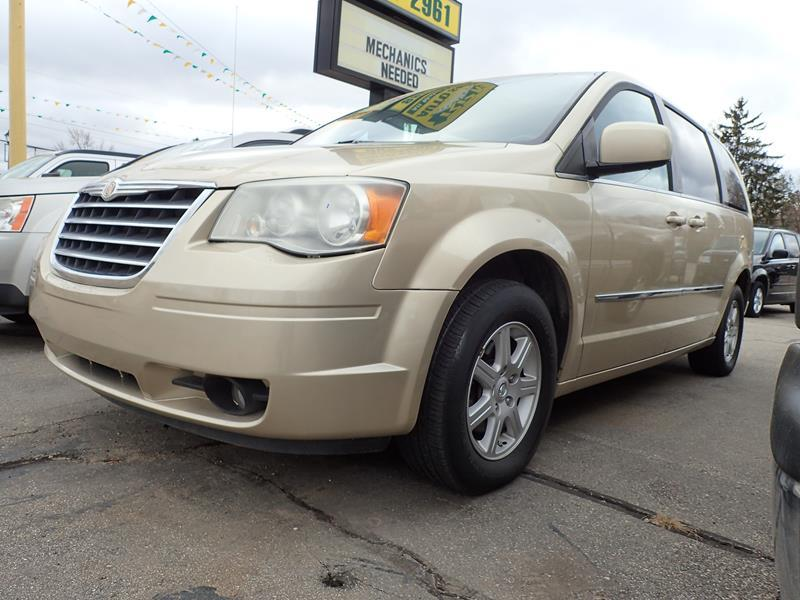 2010 CHRYSLER TOWN AND COUNTRY TOURING PLUS 4DR MINI VAN tan none 0 miles VIN 2A4RR8D11AR49590