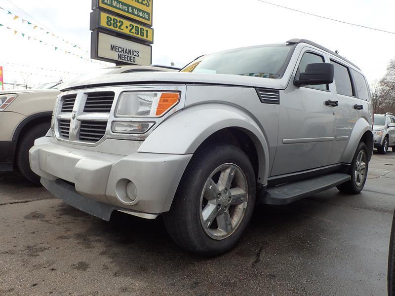 2007 DODGE NITRO 4WD silver none 190000 miles VIN 1D8GV58K47W552180