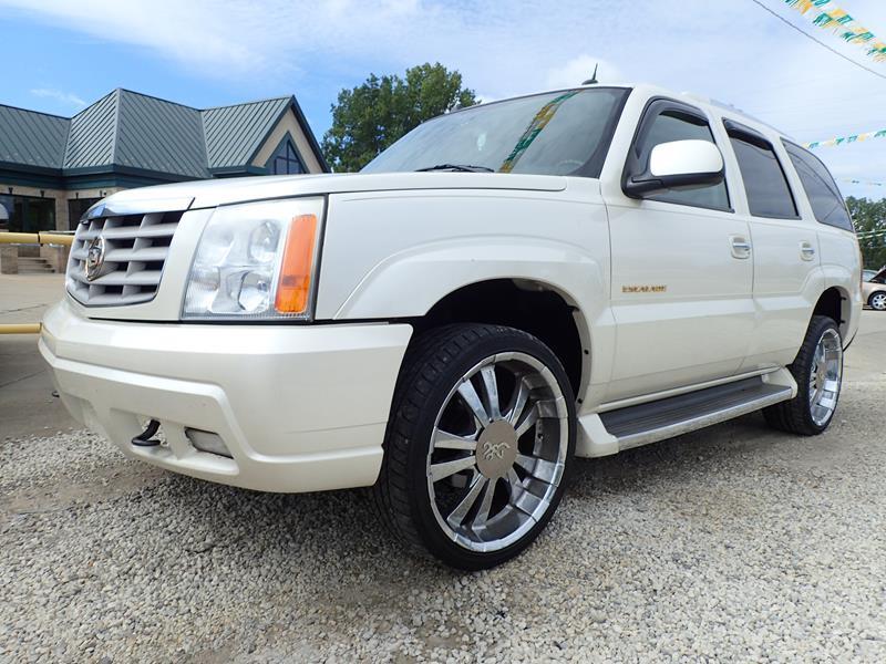 2005 CADILLAC ESCALADE BASE AWD 4DR SUV white none 166000 miles VIN 1GYEK63N45R120391
