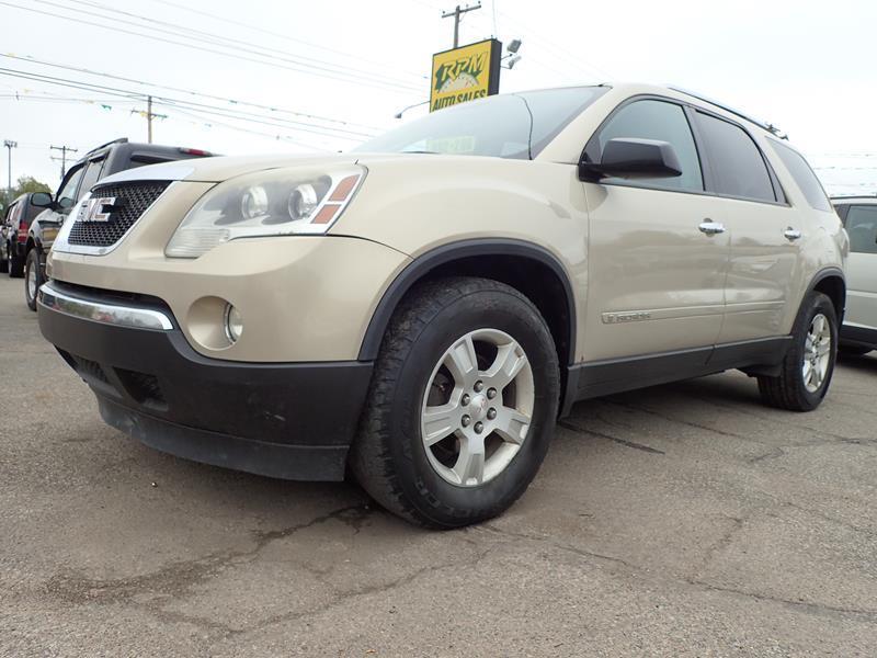 2007 GMC ACADIA SLE 1 4DR SUV tan none 249000 miles VIN 1gker13747j130981