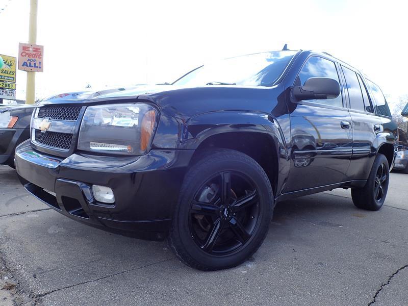 2006 CHEVROLET TRAILBLAZER LT 4DR SUV 4WD W1SE black none 163000 miles VIN 1GNDT13S862305231