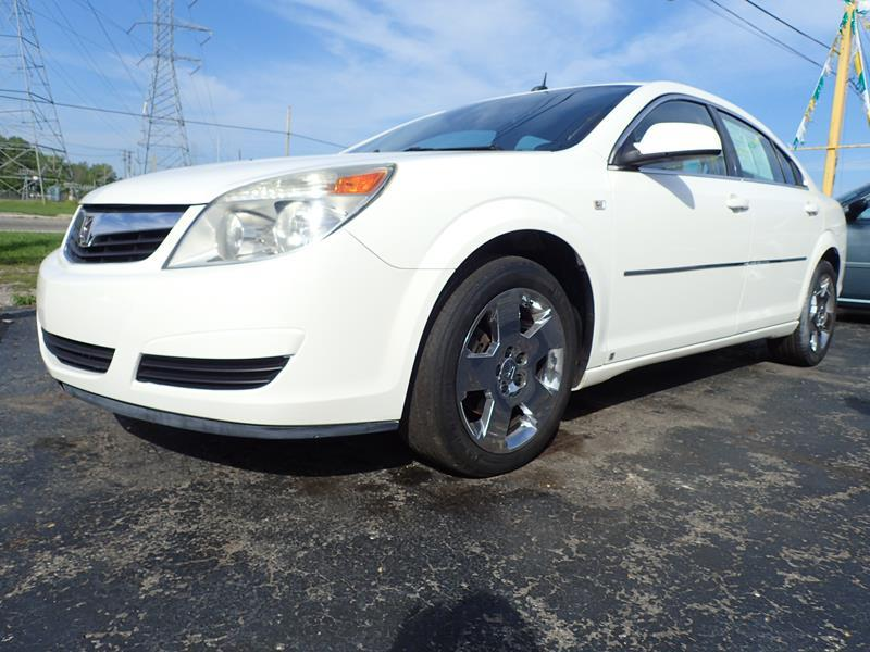 2008 SATURN AURA XE 4DR SEDAN V6 white none 133000 miles VIN 1G8ZS57N88F134788