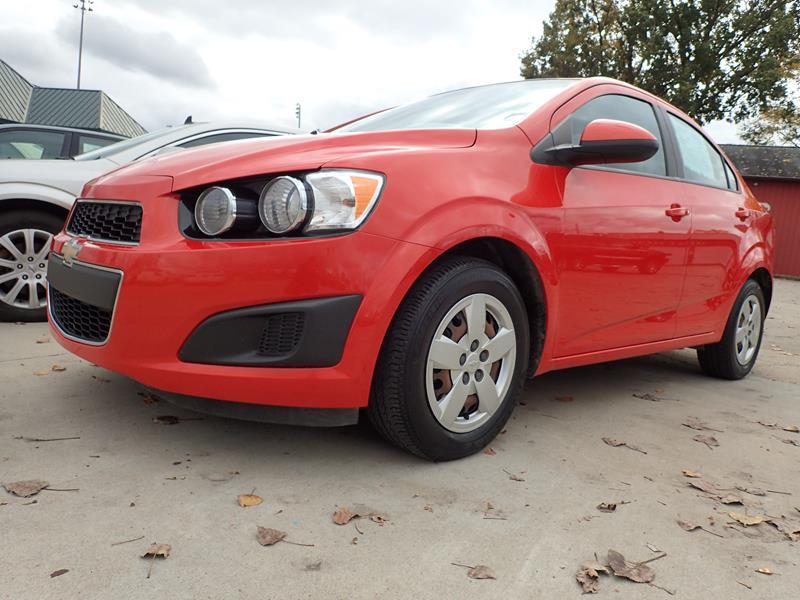2013 CHEVROLET SONIC LS AUTO 4DR SEDAN orange none 137000 miles VIN 1G1JA5SH4D416953