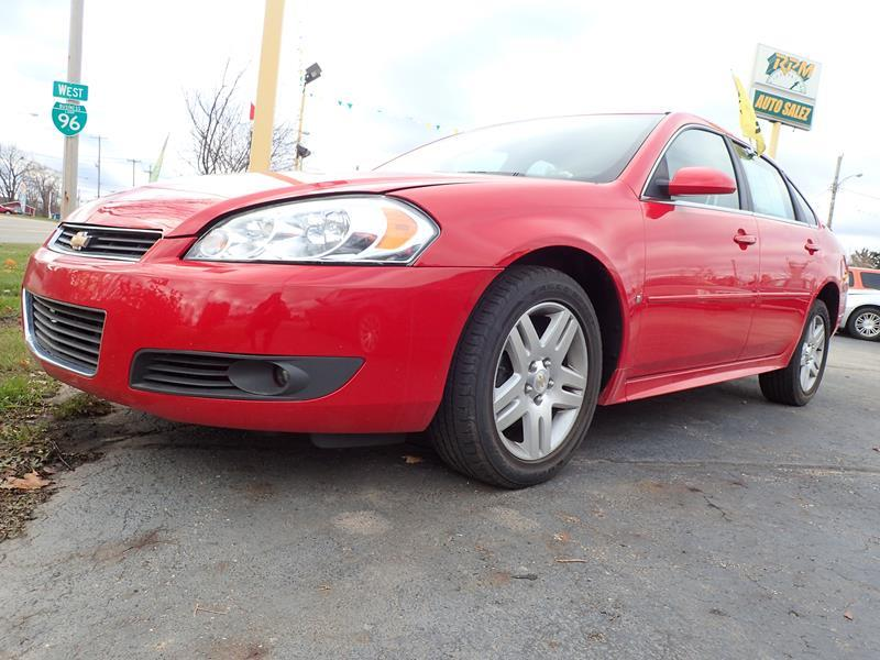 2009 CHEVROLET IMPALA LT 4DR SEDAN red none 70000 miles VIN 2G1WT57K991291243