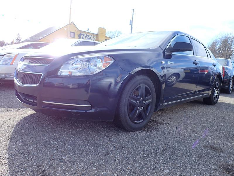 2008 CHEVROLET MALIBU HYBRID BASE 4DR SEDAN darkblue none 215000 miles VIN 1G1ZF57598F215804