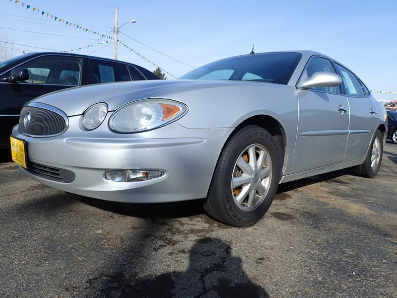 2005 BUICK LACROSSE CXL 4DR SEDAN W FRONT AND REAR silver none 122000 miles VIN 2G4WD5620513