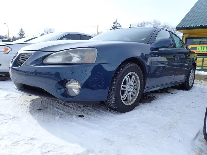 2005 PONTIAC GRAND PRIX GT 4DR SEDAN blue none 120000 miles VIN 2G2WS522451165596