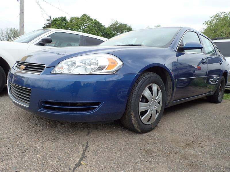 2006 CHEVROLET IMPALA LS 4DR SEDAN blue none 198000 miles VIN 2G1WB58K469233992