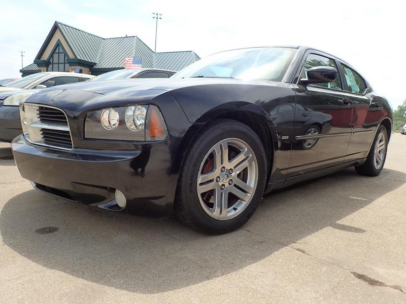 2006 DODGE CHARGER RT 4DR SEDAN black none 155000 miles VIN 2B3KA53H06H180011