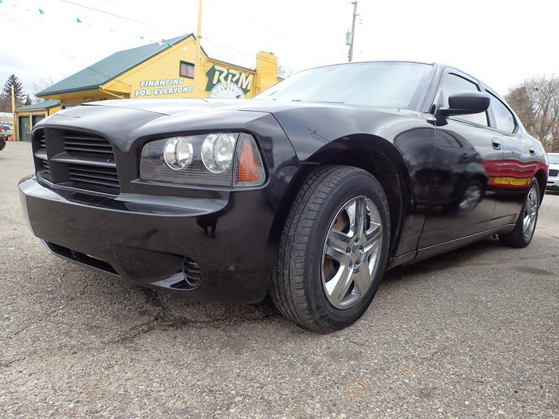2007 DODGE CHARGER BASE 4DR SEDAN black none 167000 miles VIN 2B3LA43RX7H775442