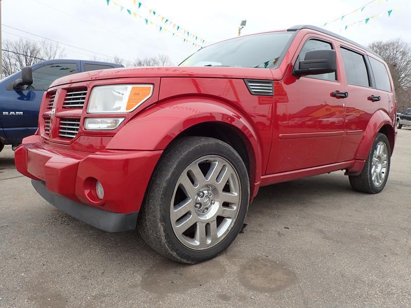 2007 DODGE NITRO RT 4WD 4DR SUV red none 150000 miles VIN 1d8gu586x7w683696
