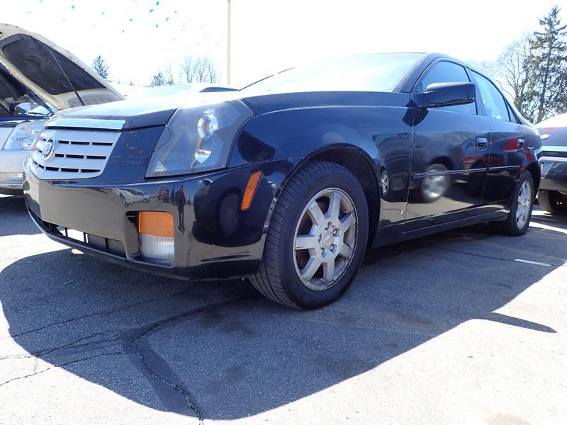 2006 CADILLAC CTS BASE 4DR SEDAN W28L black none 154000 miles VIN 1g6dm57tx60197323