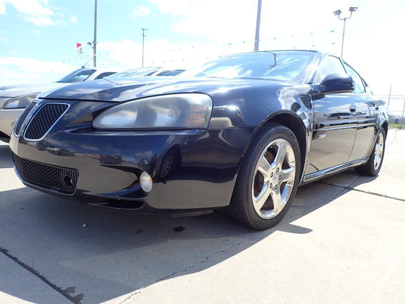 2008 PONTIAC GRAND PRIX GXP 4DR SEDAN black none 143000 miles VIN 2G2WC58C481171710