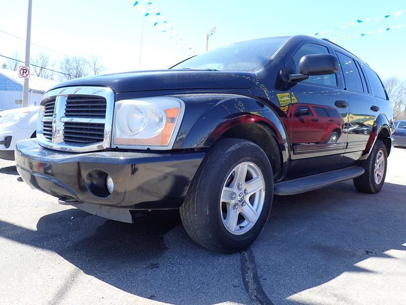 2005 DODGE DURANGO black none 184000 miles VIN 1d4hb48dx5f514764