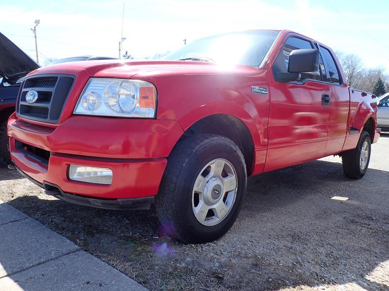 2004 FORD F-150 red none 194000 miles VIN 1FTRX04W14KC91054