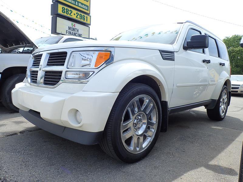 2010 DODGE NITRO SE 4X4 4DR SUV white none 173000 miles VIN 1d4pu2gkxaw140242